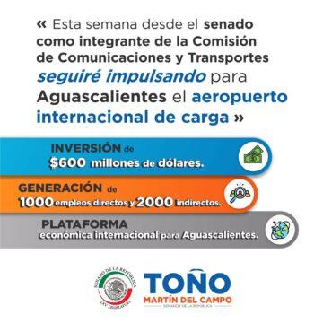 TOÑO SOSTENDRÁ REUNIÓN CON PRESIDENTA DE LA COMISIÓN DE COMUNICACIONES Y TRANSPORTES